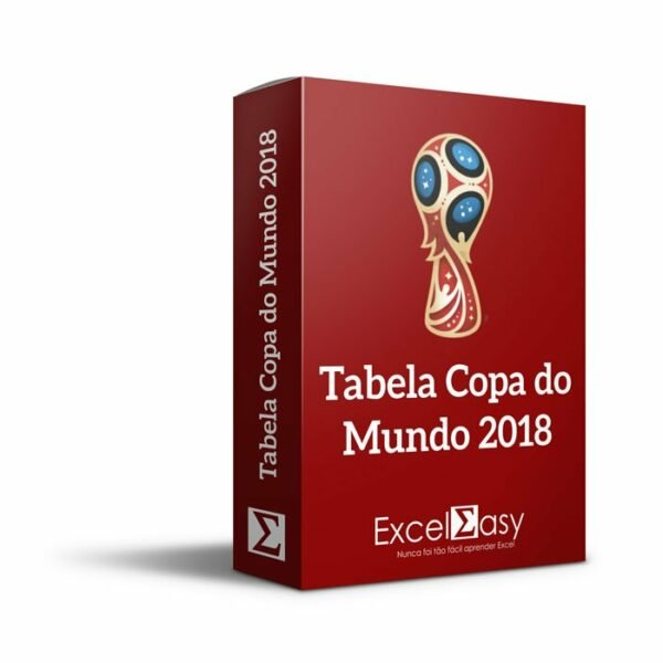 Tabela da Copa do Mundo Editável