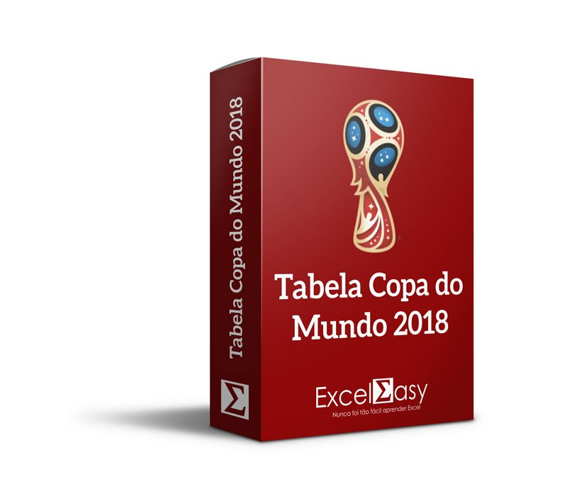 Tabela da Copa do Mundo Editável