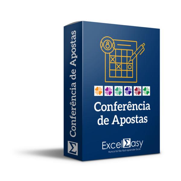Planilha de Conferência de Apostas da Loteria no Excel